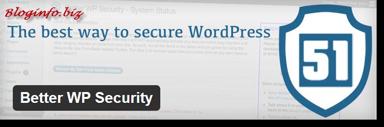 Нужные плагины для WordPress - BWP Security