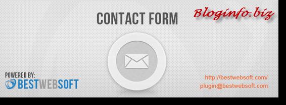 Лучшие плагины для WordPress - Contact Form