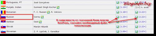 Хранитель паролей KeePass