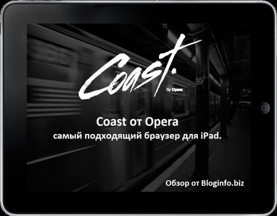 Coast от Opera - самый подходящий браузер для iPad